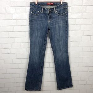 Women's Guess Inc Jeans with Rhinestne Details.